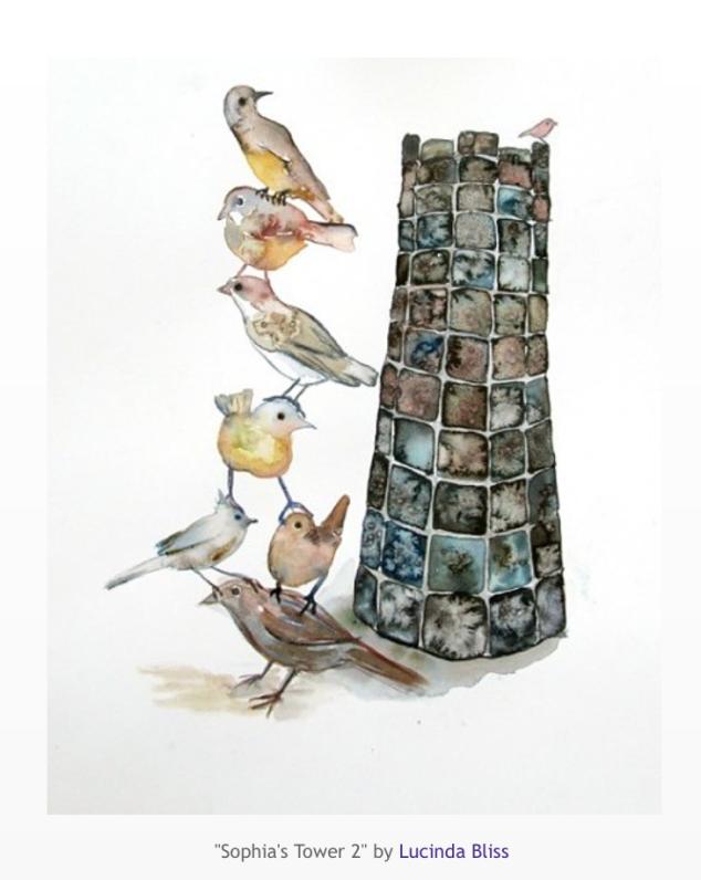 Sophia's Tower 2 by Linda Bliss
